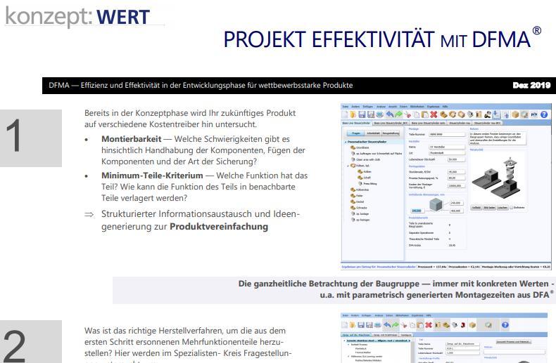 Produkt- und Projekteffektivität steigern